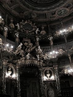 Markgräfliches Opernhaus (Margravial Opera House) in Bayreuth, Germany Gothic Aesthetic, Slytherin Aesthetic, Baroque Architecture, Beautiful Architecture, Computer Architecture, Japanese Architecture, Architecture Portfolio, Interior Architecture, Die Renaissance