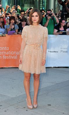 "Keira Knightley - ""A Dangerous Method"" Premiere - 2011 Toronto International Film Festival"