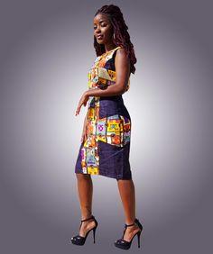 robe winnie mandela - by kabangondo on Afrikrea, €65.00