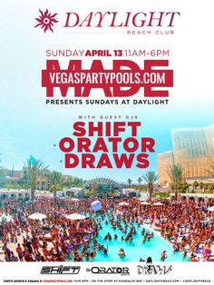 19 Vegas Daylife Vegas Pool Parties And Day Clubs Ideas Vegas Pools Day Club Vegas Pool Party