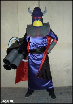 Evil Emperor Zurg Cosplay by Morkur.deviantart.com on @deviantART