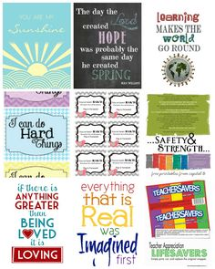 45 Free Printables for just about anything you can think of! #freeprintables