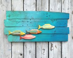 Fish+Decor+Hand+Carved+Reclaimed+Wood+Fish+in+by+EcoArtWoodDesign