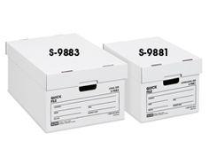 Quick File Box in Stock - ULINE: $6 legal