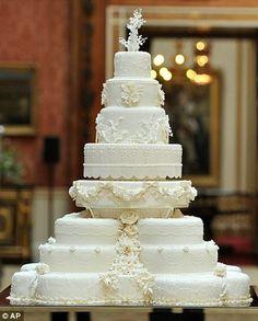 (2011) Prince William and Catherine Middleton Wedding Cake