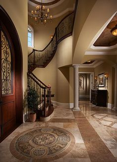 Gorgeous entry to this magnificent home! www.findinghomesinhenderson.com #realestate #lasvegas
