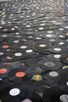☼78 records ... my Mother had some great ones ... then came 45's and then the Albums we think of today, the 33's ... then the reel to reels, 8-track tapes, cassett tapes ... and ... well you know where this is going.