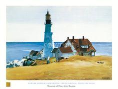 Edward Hopper: kunstwerken van de kunstenaar