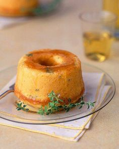 Pound Cake Recipes // Lemon-Thyme Pound Cake Recipe