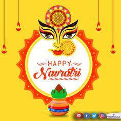 Welcome to the very new post on Happy Navratri Images for Whatsapp Whatsapp Images for Navratri. Festival season are coming soon and the Navratri is also start by this month. Navratri Wishes Images, Navratri Messages, Happy Navratri Wishes, Happy Navratri Images, Chaitra Navratri, Navratri Festival, Navratri Special, Happy Dusshera, Are You Happy