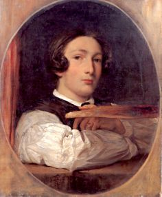 Self portrait as a boy,   Frederic Leighton