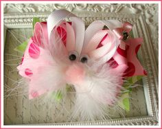 Easter BowEaster HairbowEaster Bunny by ShilohMystieDesigns, $14.99