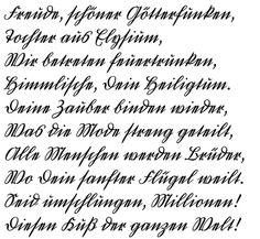 Kurrentschrift von Georg Salden