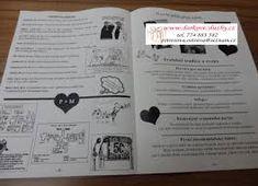 Výsledek obrázku pro svatební noviny Bullet Journal