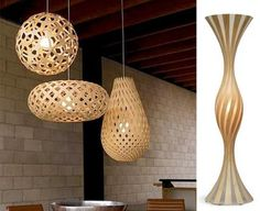 Bambus Lampen Von David Trubridge