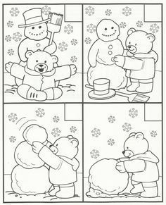 Crafts,Actvities and Worksheets for Preschool,Toddler and Kindergarten.Lots of worksheets and coloring pages. Snow Theme, Winter Theme, Preschool Learning, Preschool Activities, Teaching, Winter Crafts For Kids, Preschool Winter, Winter Art, Winter Activities