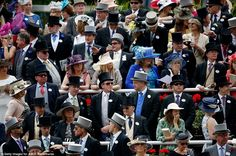 It truly is the best hat wearing event in the world - Royal Ascott.  Ladies should have a headpiece that is required to be at least 10cm wide or you may well be turned away.