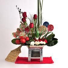 ¿Cómo decoras un arreglo de flores temático  a nuestras próximas fiestas…