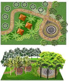 the concept of a garden party