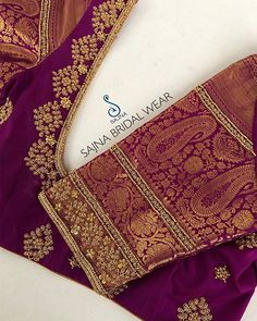 To get your outfit customized visit us at Chennai, Vadapalani. Call/msg us at / for appointments, online order… Source by banuganesh work Cutwork Blouse Designs, Wedding Saree Blouse Designs, Half Saree Designs, Pattu Saree Blouse Designs, Simple Blouse Designs, Stylish Blouse Design, Wedding Sarees, Traditional Blouse Designs, Maggam Work Designs