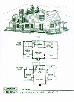 1000 images about standard model floor plans on pinterest for Appalachian house plans