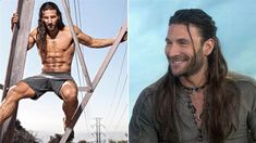 """Hunky actor Zach McGowan, star of the Starz pirate adventure series """"Black Sails,"""" reveals secrets of the intense workout he does to stay shipshape for his role as Captain Charles Vane. He also shows Hoda Kotb and Jenna Bush Hager some sword-fighting moves (with fake swords, fortunately)."""
