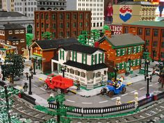 Lego City and Train Layout at The Henry Ford Museum | Flickr - Photo Sharing!