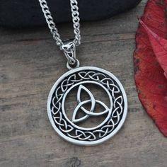 etsy celtic knot pendant