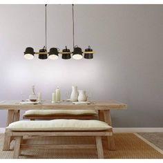 Espresso, Esstisch Design, Family Poster, Bauhaus, The 100, Dining Table, Chandelier, Ceiling Lights, Interior Design