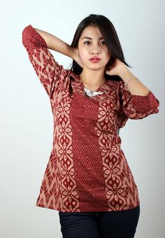 Blus Batik Trusmi LB Rangrang Cokelat Marun IDR 45.000  *bahan: Katun Halus Kombinasi Dobi *size: M, L & XL *pilihan warna: Dasar Merah  ----------------------------------------------------------------------------- Info Order, hubungi Team Marketing Online kami [Open Reseller & Dropship] --> Phone/SMS/Whatsapp/Line :  Dian : 081564690003 | PIN BB: 57FA23DC Linda: 085864040786 | PIN BB: 57E93563 Gina : 089665271943 | PIN BB: 79FCA1A9 Viny : 085724290097 | PIN BB: 56F40C1A