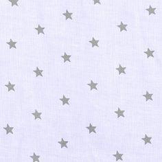 Voile Algodón Estrellas Blanca - Tiendatelas
