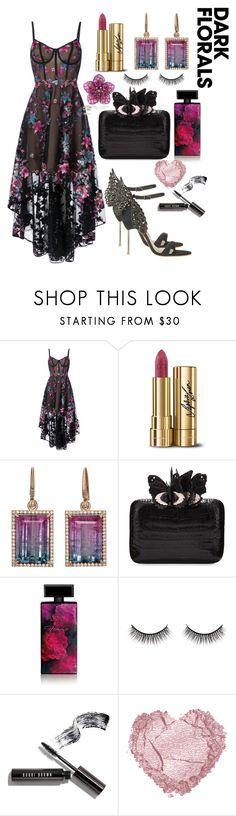 """Untitled #240"" by hallierosedale ❤ liked on Polyvore featuring Notte by Marchesa, Dolce&Gabbana, Irene Neuwirth, Nancy Gonzalez, Elizabeth Arden, Battington, Bobbi Brown Cosmetics and Sophia Webster"