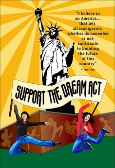 Dream Act, Acting, Believe, Politics, America, Let It Be, Art, Art Background, Kunst