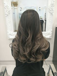Hair By Julianne Cho - Los Angeles, CA, United States. My ashy balayage with grey tones by the coloring wizard Julianne :)