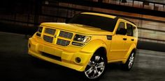 Dodge Nitro - Detonator Yellow