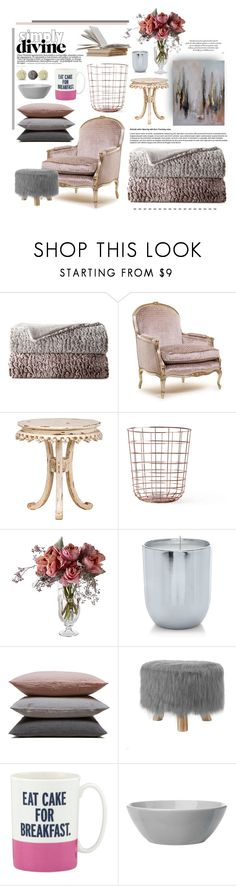 """""""Untitled #664"""" by heba-j ❤ liked on Polyvore featuring interior, interiors, interior design, home, home decor, interior decorating, JCPenney Home, BYRON, Menu and Juliska"""