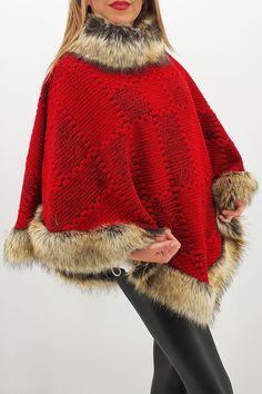 ▪️Poncho din lana cu blana 7! ▪️Traditie si stil! Oriunde, oricând! ▪️Preț 219lei ❗ Redus de la 320 lei ❗ ▪️Transport GRATUIT și RAPID în 24h la comenzi peste 100lei! ▪️Comenzi telefonice: 0720 000 020 ▪️Marime universala: Circumferinta bust: 160 cm; Lungime: 76cm ▪️Detalii produs: Fur Coat, Jackets, Fashion, Down Jackets, Moda, Fashion Styles, Fashion Illustrations, Fur Coats, Fur Collar Coat
