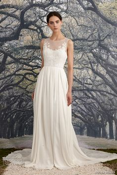 Nicole Miller Bridal Spring 2016 Wedding Dresses 6c0a905095ac