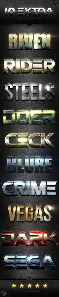 10 Extra Light Text Effects. Download here: http://graphicriver.net/item/10-extra-light-text-effects-vol6/14629909?ref=ksioks