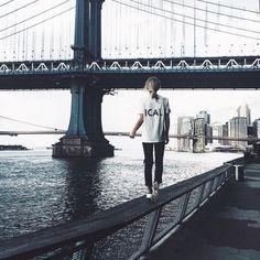 ✌️#manhattanbridge #happilygrey #6397tee | @liketoknow.it www.liketk.it/1r4PE #liketkit