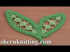 Crochet leaf Patterns On this video, you will notice create leaf In Romanian Level Lace. All the pieces about Knitting and Crocheting. Step-by-step knitting and crocheting tutorials for newcomers. Crochet Cord, Crochet Video, Freeform Crochet, Crochet Motif, Free Crochet, Doilies Crochet, Crochet Leaf Patterns, Lace Knitting Patterns, Crochet Leaves
