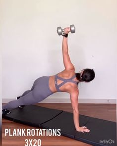 3 x 20 Fitness Workouts, Gym Workout Videos, Fitness Workout For Women, Fitness Routines, Body Fitness, Fitness Goals, Butt Workouts, Ab Exercises, Hiit Abs
