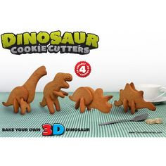 Dinosaur Cookie Cutters Picture