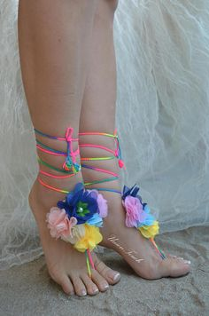 lace barefoot sandals beach wedding barefoot sandals beach Beach Wedding Sandals, Beach Wedding Photos, Bare Foot Sandals, Lace Flowers, Bridesmaid Gifts, Barefoot, Best Gifts, Peep Toe, Wedding Ideas