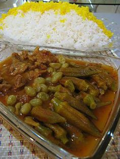 Iranian Food Khoresht Bameyeh