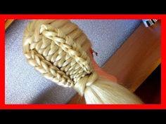 WATERFALL CHAIN BRAID HAIRSTYLE / HairGlamour Styles / Braids Hair Tutorial - YouTube