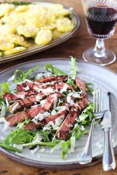Tuna, Italian Recipes, Cobb Salad, Love Food, Bbq, Healthy Recipes, Healthy Food, Pasta, Fish