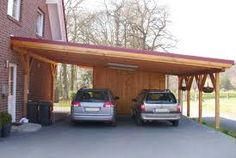 Image result for modern carport sloped roof