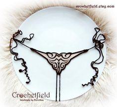 Mini open thong embroidery tattoo lace ouvert panties  aa9e6d88e
