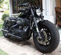 ducati front end swap - The Sportster and Buell Motorcycle Forum